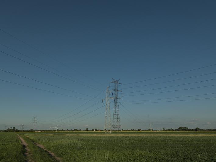 Die Ebene südlich von Lodz