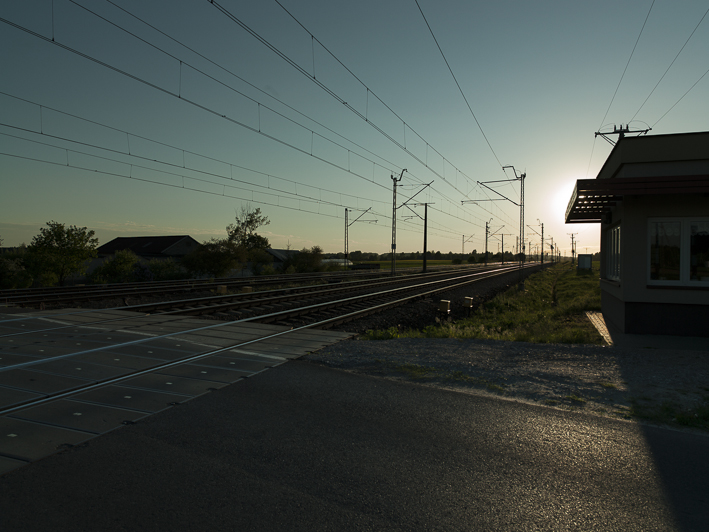 Bahndamm nördlich von Borowa