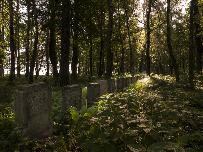 Soldatenfriedhof Pustulka bei Grajewo