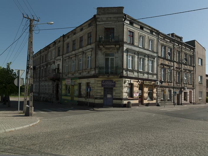 In diesem Haus befand sich eine Apotheke, die damals in jüdischem Besitz war