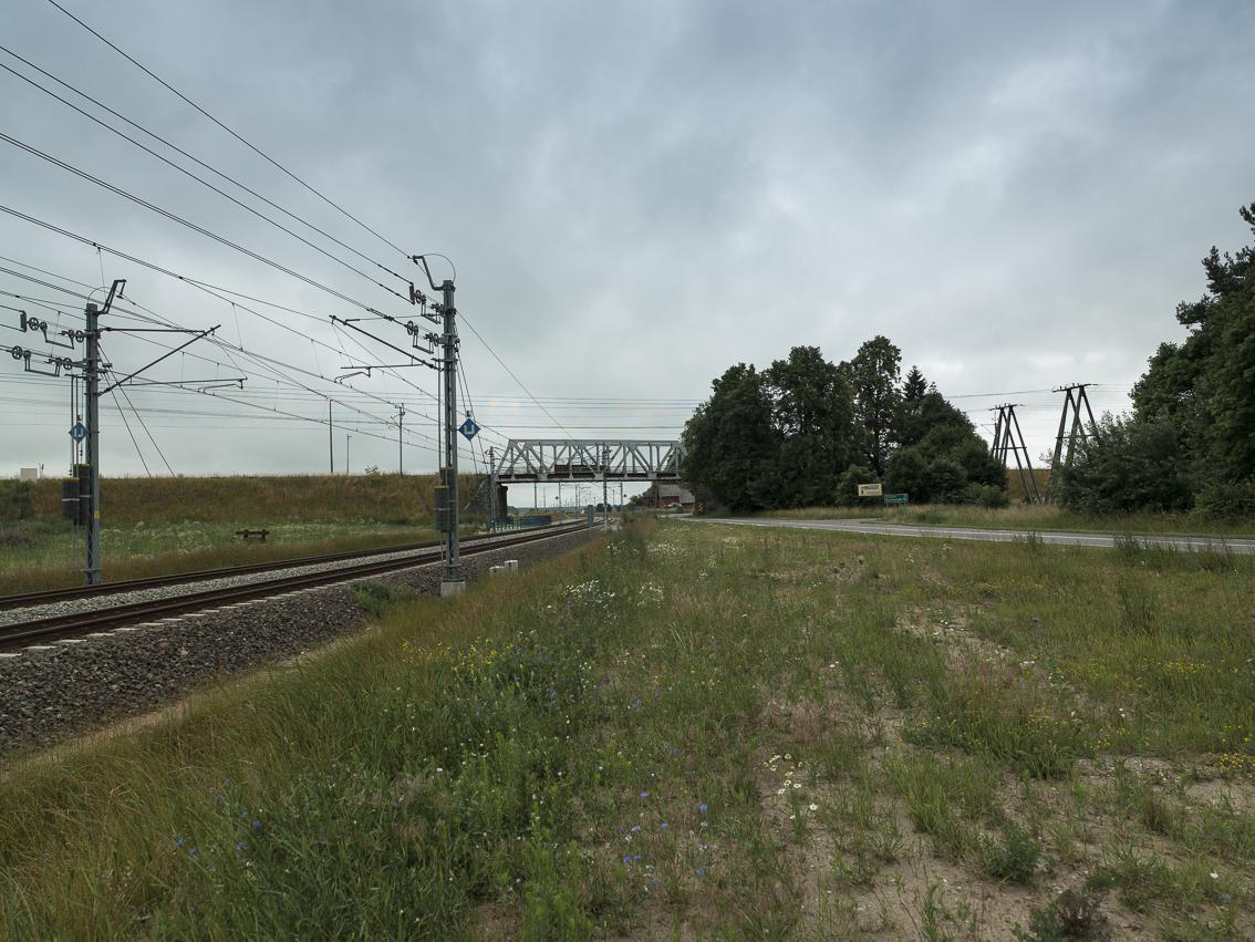 Bahnlinie bei Soldau